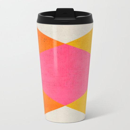 summer triangles Metal Travel Mug