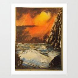 Montezuma's Cliff Art Print