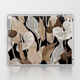 Lush lily - russet Laptop & iPad Skin