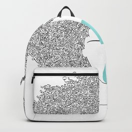 Head Full of Words Backpack