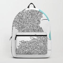 Head Full of Words Backpack