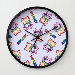 Maneki Neko Jack Wall Clock