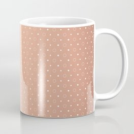 Art Deco, Simple Shapes Pattern 1 [ROSE GOLD] Coffee Mug