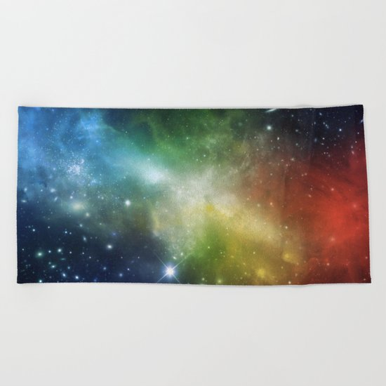 Universe 06 Beach Towel