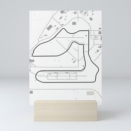 Sebring International Raceway Mini Art Print