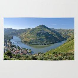 The Vale do Douro at Pinhao, Portugal Rug
