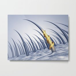 Hair care Metal Print