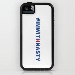 #IMWITHNASTY iPhone Case