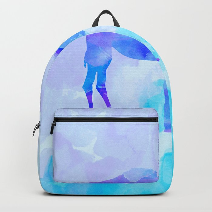 Abstract Camel Backpack