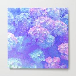 Raining Flowers Metal Print