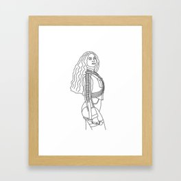 Super Bey Framed Art Print