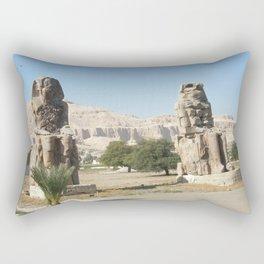 The Clossi of memnon at Luxor, Egypt, 2 Rectangular Pillow