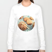 cookies Long Sleeve T-shirts featuring Cookies by Leonor Saavedra