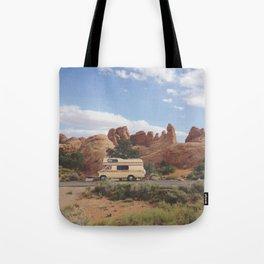 Rock Camper Tote Bag