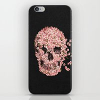 flower iPhone & iPod Skins featuring A Beautiful Death  by Terry Fan