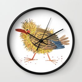 a little bird Wall Clock