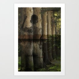 Forest Nymph Art Print