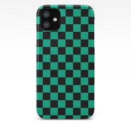 Tanjiro Pattern iPhone Case