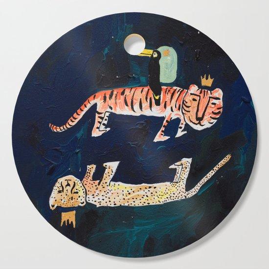 Tiger, Cheetah, Toucan Painting by larameintjes