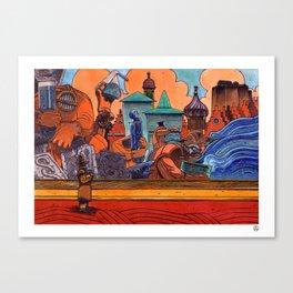 High Society 1. Canvas Print