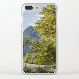 The Tree by Sentinel Bridge Clear iPhone Case