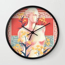 Silphium Wall Clock