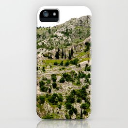 The Fort Above Kotor, Montenegro iPhone Case