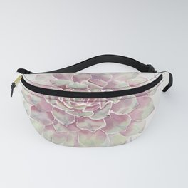 Big Succulent Watercolor Fanny Pack