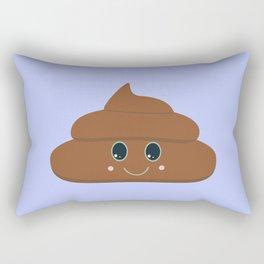 Happy poo Rectangular Pillow