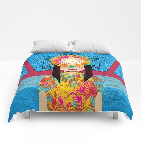 Sunflower Girl Comforters