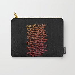 Perfect Places (Pink) Carry-All Pouch