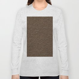 outdoor patterns brown Long Sleeve T-shirt