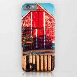 End of Day at Blue Rocks iPhone Case