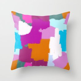 Me and You Mingled in the Dark Throw Pillow