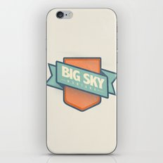 Big Sky, Montana iPhone & iPod Skin