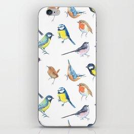 British Garden Birds iPhone Skin