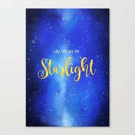 Milky way - Vixx Canvas Print