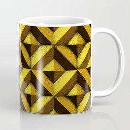 Concrete wall - Sun yellow Coffee Mug