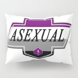 Identity Stamp: Asexual Pillow Sham