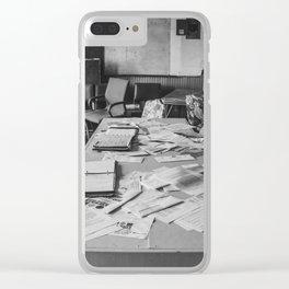 School, Arena, North Dakota 12 Clear iPhone Case