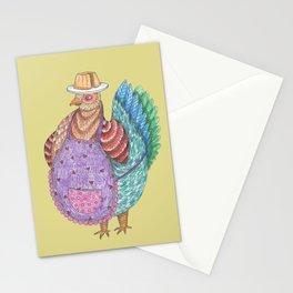 Odile, La Poule Stationery Cards