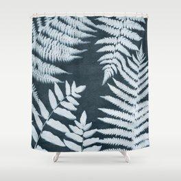 Sun Print Fern #1 Shower Curtain