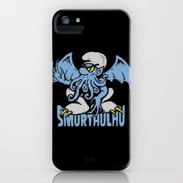 SMURTHULHU iPhone Case