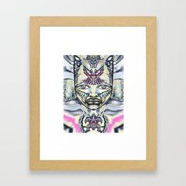Buttery Fly warrior Framed Art Print