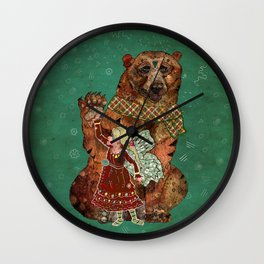 Magic Bearer Wall Clock