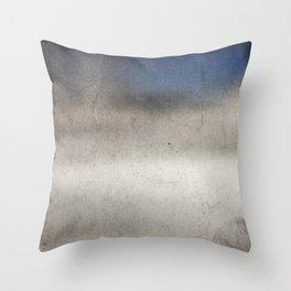 Grunge metal texture  Throw Pillow