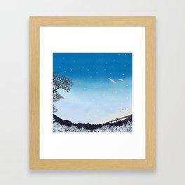 On Their Way Home | Miharu Shirahata Framed Art Print