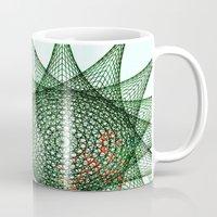 snowflake Mugs featuring Snowflake by Nick Brummer