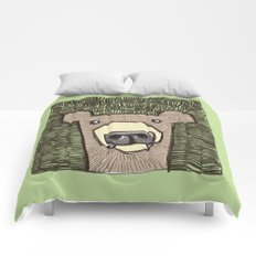 dack the bear Comforters