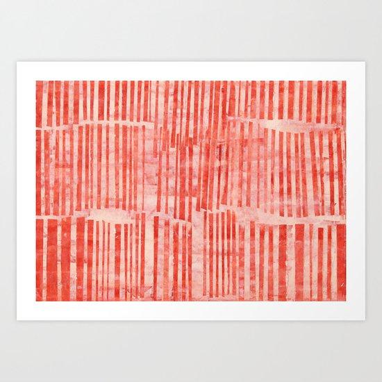 RED 20 Art Print